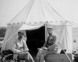 foto Bernard Grenfell and Arthur Hunt 1897 (The Egypt Exploration Society)
