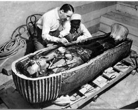 foto Carter i Tutankamon